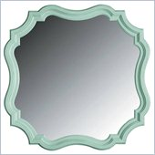 Stanley Furniture Coastal Living Cottage Piecrust Mirror in Morning Sky