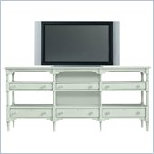 Stanley Furniture Coastal Living Cottage Reunion Console in Morning Sky