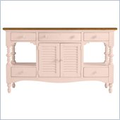 Stanley Furniture Coastal Living Cottage Buffet with Boardwalk Top in Conch