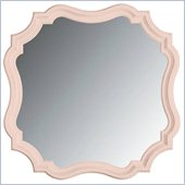 Stanley Furniture Coastal Living Cottage Piecrust Mirror in Conch