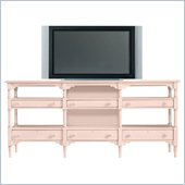 Stanley Furniture Coastal Living Cottage Reunion TV Console in Conch