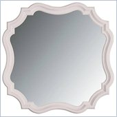 Stanley Furniture Coastal Living Cottage Piecrust Mirror in Twilight