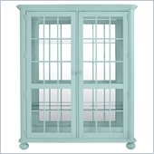 Stanley Furniture Coastal Living Cottage Newport Storage Cabinet in Sea Mist