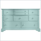 Stanley Furniture Coastal Living Cottage Getaway Triple Dresser in Sea Mist