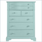 Stanley Furniture Coastal Living Cottage 7 Drawer Chest in Sea Mist