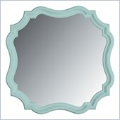 Stanley Furniture Coastal Living Cottage Piecrust Mirror in Sea Mist