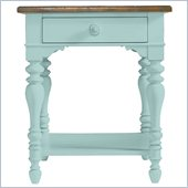 Stanley Furniture Coastal Living Cottage Lamp Table in Sea Mist