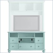 Stanley Furniture Coastal Living Cottage TV Console in Sea Mist