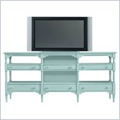 Stanley Furniture Coastal Living Cottage Reunion Console in Sea Mist
