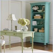 Stanley Furniture Coastal Living Cottage Bookcase in Sea Mist