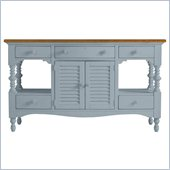 Stanley Furniture Coastal Living Cottage Buffet with Boardwalk Top in High Tide