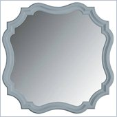 Stanley Furniture Coastal Living Cottage Piecrust Mirror in High Tide