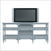 Stanley Furniture Coastal Living Cottage Reunion TV Console in High Tide