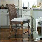 Stanley Furniture Coastal Living Cottage 24 Woven Counter Stool in Boardwalk
