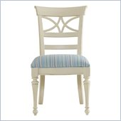Stanley Furniture Coastal Living Cottage Sea Watch Side Chair in Shell