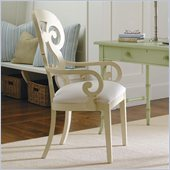 Stanley Furniture Coastal Living Cottage Wayfarer Arm Chair in Shell
