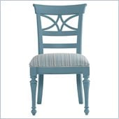 Stanley Furniture Coastal Living Cottage Sea Watch Side Chair in Wave