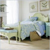 Stanley Furniture Coastal Living Cottage Summerhouse Bed in Sea Grass