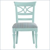 Stanley Furniture Coastal Living Cottage Sea Watch Side Chair in Sea Mist