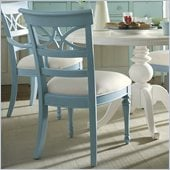 Stanley Furniture Coastal Living Cottage Sea Watch Side Chair in High Tide