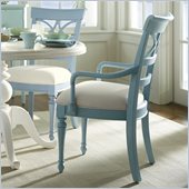 Stanley Furniture Coastal Living Cottage Sea Watch Arm Chair in High Tide