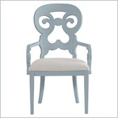 Stanley Furniture Coastal Living Cottage Wayfarer Arm Chair in High Tide
