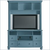 Stanley Furniture Coastal Living Cottage Entertainment Center in Wave