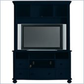 Stanley Furniture Coastal Living Cottage Entertainment Center in Navy