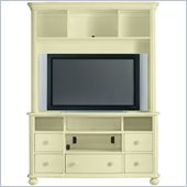 Stanley Furniture Coastal Living Cottage Entertainment Center in Sea Grass