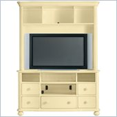 Stanley Furniture Coastal Living Cottage Entertainment Center in Lemon Twist