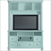 Stanley Furniture Coastal Living Cottage Entertainment Center in Sea Mist
