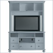Stanley Furniture Coastal Living Cottage Entertainment Center in High Tide