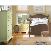 Stanley Furniture Coastal Living Cottage King Low Country Woven Bed 3 Piece Bedroom Set