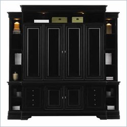 Stanley Furniture Louis Louis Black Opal Entertainment Center