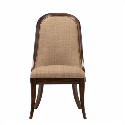 Stanley Furniture Archipelago Bequia Host Chair in Fathom