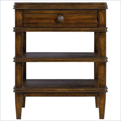Stanley Furniture Archipelago Calypso Drawer End Table in Fathom
