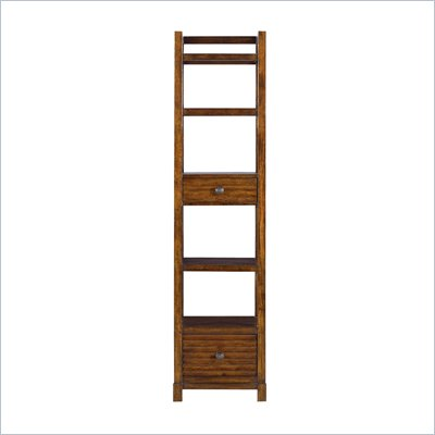 Stanley Furniture Archipelago Ripple Cay Bookcase in Fathom