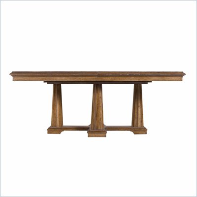 Stanley Furniture Archipelago Calypso Pedestal Table in Shoal