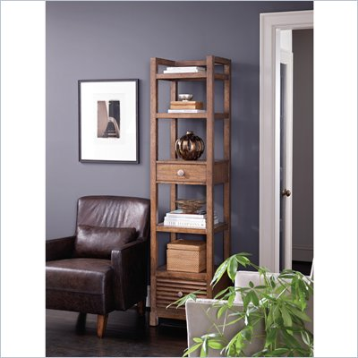 Stanley Furniture Archipelago Ripple Cay Bookcase in Shoal
