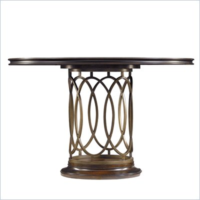 Stanley Furniture Avalon Heights Neo Deco Pedestal Table in Chelsea