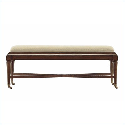Stanley Furniture Avalon Heights Nash Bed End Bench in Chelsea