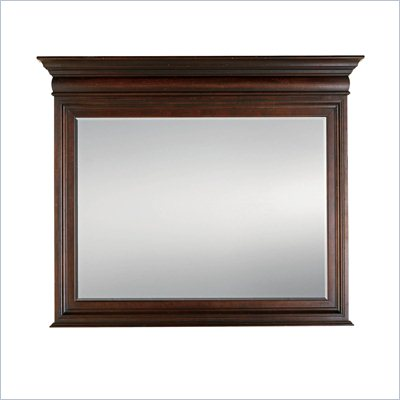 Stanley Furniture City Club Barrister Landscape Mirror in Blair