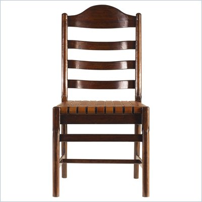 Stanley Furniture Artisan Ladderback Side Chair in Barrel