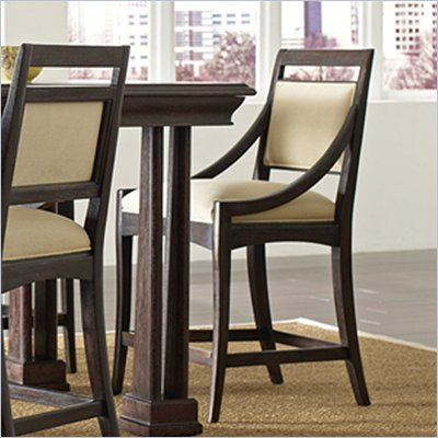 Stanley Furniture Modern Counter Stool in Onyx