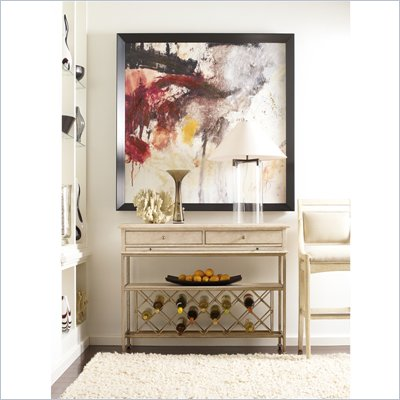 Stanley Furniture Modern Sideboard in Alabaster