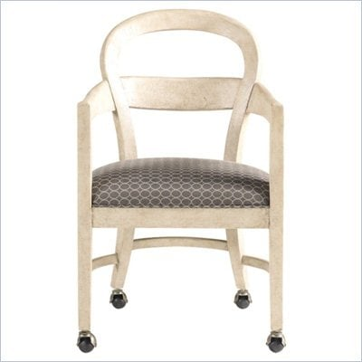 Stanley Furniture Modern Club Chair in Alabaster