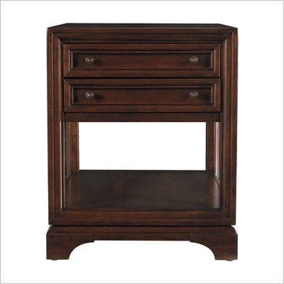 Stanley Furniture Continuum End Table in Amaretto Cherry