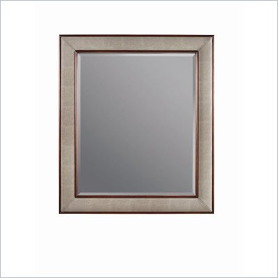 Stanley Furniture Continuum Mirror w/ Upholstered Wood Frame in Amaretto Cherry