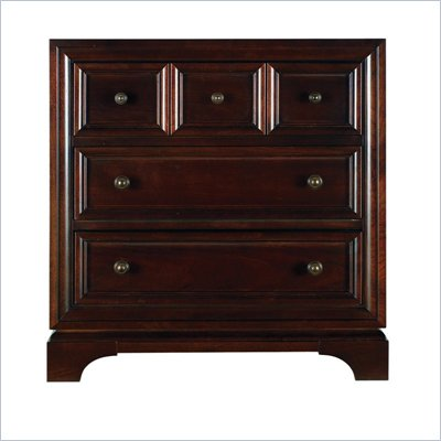 Stanley Furniture Continuum Wood Night Stand in Amaretto Cherry