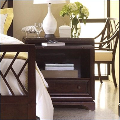 Stanley Furniture Continuum 1 Drawer Nightstand in Amaretto Cherry